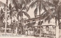 Dahomey . Cotonou . Le Bureau Des Douanes Françaises . - Dahomey