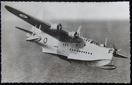 MILITARIA CPA AVIATION HYDRAVION ROYAL AIR FORCE SHORT SUNDERLAND - 1919-1938: Fra Le Due Guerre