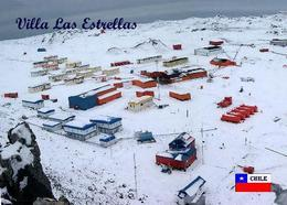 Antarctica Villa Las Estrellas Research Station Chile United States New Postcard Antarktis AK - Sonstige