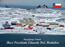 Antarctica Presidente Eduardo Frei Montalva Base Chile New Postcard Antarktis AK - Sonstige