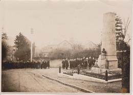 57 - ARS SUR MOSELLE - PHOTO 120 X 170 - EVENEMENT OFFICIEL - INAUGURATION MONUMENT ? - Ars Sur Moselle