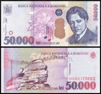 ROMANIA 50000 LEI 2000 UNC P109A - Romania