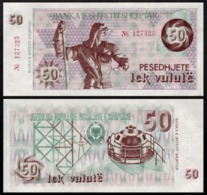 Albania 1992 50 Leke UNC P50a - Albanië