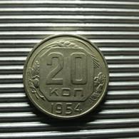 Russia 20 Kopeks 1954 - Rusland