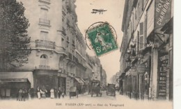 ***  75  ***   PARIS  Rue De Vaugirard Avion - TTB - District 15