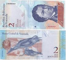Venezuela - 2 Bolivares 27.12. 2012 Pick 88c UNC Lemberg-Zp - Venezuela
