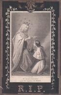 Doodsprentje Maria Catharina Van Praet (x Debouck ) ° Mol Moll 1833 - Neerpelt 1866 - Images Religieuses