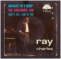 45 Rpm Vinyl Record. Ray Charles. Music Of The Film : The Cincinnati Kid. Average State. - Filmmusik