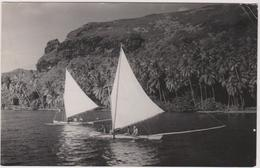 TAHITI  Bora Bora  - Timbre Au Verso  1956 - Tahiti