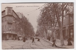 CPA Photographique - Marseille - Boulevard Philippon - Cinq Avenues, Chave, Blancarde, Chutes Lavies