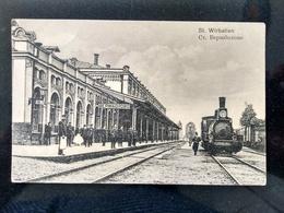 VIRBALIS (Wirballen), 1905 - 1915, Railway Station, Train - Lituanie