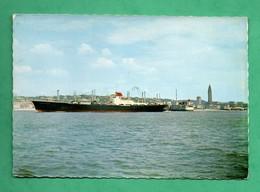76 Seine Maritime Le Havre Cargo USL Ultra Rapide Sortant Des Jetées - Commerce