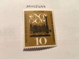 Germany Railway 1960 Mnh - Unused Stamps