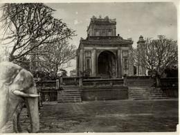 INDO CHINE ASIA   24*18 CM Fonds Victor FORBIN 1864-1947 - Lugares