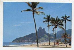 BRAZIL  - AK 355370 Rio De Janeiro - Ipanema Beach - Rio De Janeiro