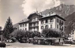74 - CHAMONIX : Hotel Restaurant DES ETRANGERS - CPSM Dentelée Noir Blanc Format CPA - Haute Savoie - Chamonix-Mont-Blanc