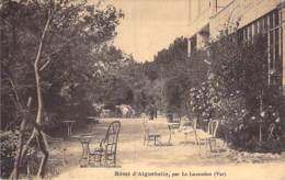 83 - LE LAVANDOU : Hotel D'AIGUEBELLE - Le Jardin - CPA - Var - Le Lavandou