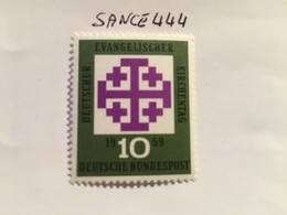 Germany Evangelical Day 1959 Mnh - Unused Stamps