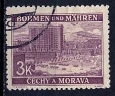 Bohëme Et Moravie - Böhmen Und Mähren - Bohemia And Moravia 1939-40 Y&T N°33 - Michel N°33 (o) - 3k Zlin - Bohême & Moravie