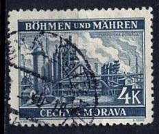 Bohëme Et Moravie - Böhmen Und Mähren - Bohemia And Moravia 1939-40 Y&T N°34 - Michel N°34 (o) - 4k Moravska Ostrava - Oblitérés