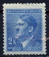 Bohëme Et Moravie - Böhmen Und Mähren - Bohemia And Moravia 1942-45 Y&T N°87 - Michel N°87 *** - 2k Hitler - Bohême & Moravie