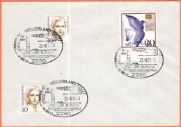 GERMANIA - GERMANY - Deutschland - ALLEMAGNE - 1990 - 2 X 10 + 20 Tag Der Briefmarke + Special Cancel Westerland, Syltpo - Storia Postale