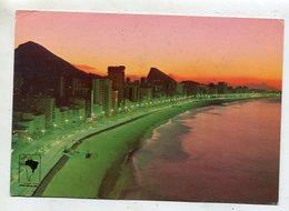 BRAZIL  - AK 355410 Rio De Janeiro - Leblon And Ipanema - Rio De Janeiro