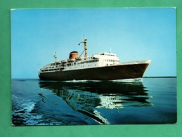 Appia Cargo Ship Bateau De Commerce Nave Traghetto Appiaservizio Italia Grecia - Commerce