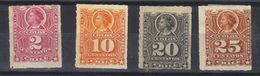 CHILI  N°s 25**,27*,28 Et 33* (1878-94) - Chile