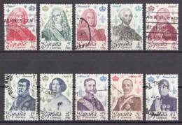 Spanien Spain 1978 - MiNr. 2388-2397 O Used - Spanische Könige Aus Dem Hause Bourbon - 1931-Heute: 2. Rep. - ... Juan Carlos I