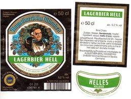 Etichetta Birra Augustinerbrau Helles - Beer