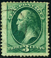 US #136 With Grill 1870 Issue  F/VF  USED - Used Stamps