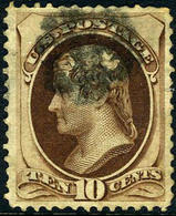 US #150 USED XF ... 1870 Issue Without Secret Mark - Used Stamps