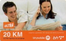 TARJETA TELEFONICA DE BOSNIA Y HERZEGOVINA (PREPAGO). 20.11.2009 (535) - Bosnia