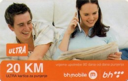 TARJETA TELEFONICA DE BOSNIA Y HERZEGOVINA (PREPAGO). 20.11.2009 (535) - Bosnië