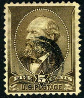 US #205 USED F/VF... 1882 Issue James Garfield - Used Stamps