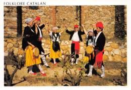 CPM - Folklore CATALAN - Danseurs Catalans - Danses