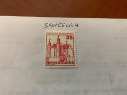 Germany Castles 25p Mnh 1978 - [7] Federal Republic