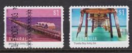 Australia 2017 Jetties Set Of 2 Self-adhesives Used - Used Stamps