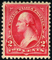 US #251 MINT Hinged VF/XF   Fresh Color  1895  Type II  Issue - Unused Stamps