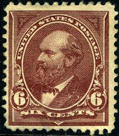 US #256 MINT Hinged F/VF   Fresh Color  1894 Issue - Unused Stamps