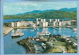 Les Trois îlets (Martinique) Pointe Du Bout Hôtel De La Marina Plage De L'Anse Nitan Bateaux Voitures Vue Aériennne - Andere