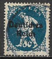 GERMANIA REICH REP DI WEIMAR 1920 FRANCOBOLLI DI BAVIERA SOPRASTAMPATI UNIF. 229 USATO VF - Germania