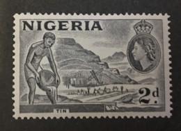 Nigeria - MH* - 1956-1957 - # 93 - Nigeria (...-1960)