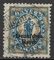 GERMANIA REICH REP DI WEIMAR 1920 FRANCOBOLLI DI BAVIERA SOPRASTAMPATI UNIF. 231 USATO VF - Germania