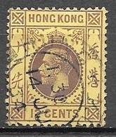 1914 King George V, 12 Cents Used - Hong Kong (...-1997)