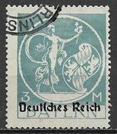 GERMANIA REICH REP DI WEIMAR 1920 FRANCOBOLLI DI BAVIERA SOPRASTAMPATI UNIF. 235  USATO VF - Germania