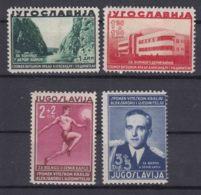 Yugoslavia Kingdom 1938 Mi#358-361 Mint Hinged - Unused Stamps