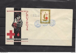 RO) 1963 COLOMBIA,BANK OF BLOOD OF THE RED CROSS, FDC WITH TONE, ( XI- 2017) - Colombia