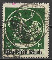 GERMANIA REICH REP DI WEIMAR 1920 FRANCOBOLLI DI BAVIERA SOPRASTAMPATI UNIF. 236 C  USATO VF - Germania